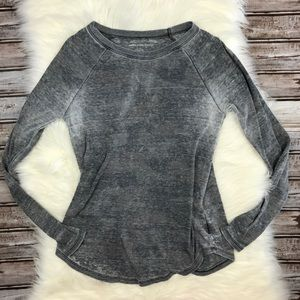 American Eagle Subtle Grey and Olive Camo Thermal